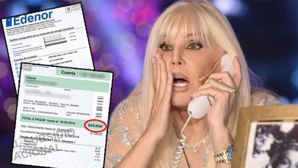 Susana gim nez revel la incre ble cifra de su factura de for Ciudad com ar espectaculos