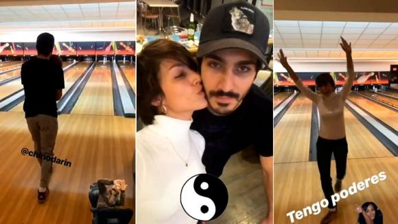 La divertida salida al bowling del chino dar n y rsula for Ciudad com ar espectaculos