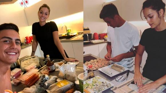 Oriana sabatini y paulo dybala expertos en la cocina for Ciudad com ar espectaculos