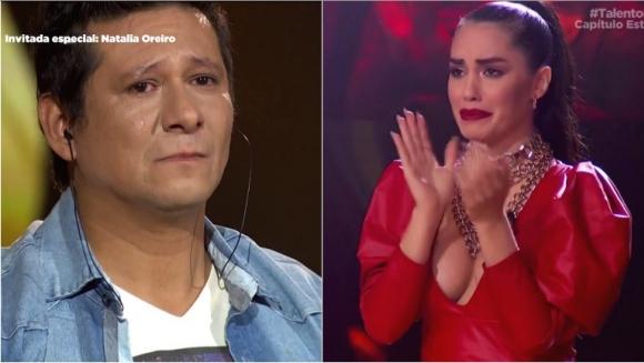 """El sobreviviente de Cromañón que conmovió a Lali Espósito en Talento Fox: """"Tenés lo que hay que tener"""""""