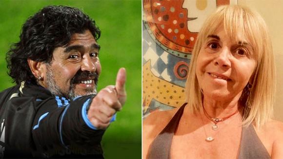 """Claudia Villafañe y su difícil relación con Maradona: """"Por más que a veces tenga ganas de matarlo, siempre lo voy a respetar"""""""