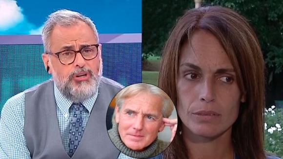 Fuerte reproche de Jorge Rial a la novia de Sergio Denis por no viajar a acompañarlo