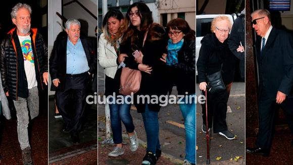 El último adiós a Sergio Gendler: familiares, amigos y compañeros lo despidieron con gran dolor