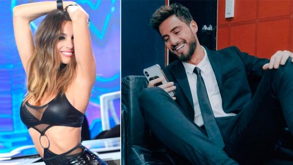 Pampita contó que Nico Occhiato le mandó un mensaje, luego de que De Brito dijera que ella gusta de él