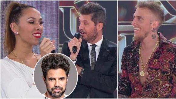 """La reacción de Barby Silenzi cuando Tinelli le preguntó si El Polaco """"es medio Luciano Castro"""": """"Es muy Luciano"""""""