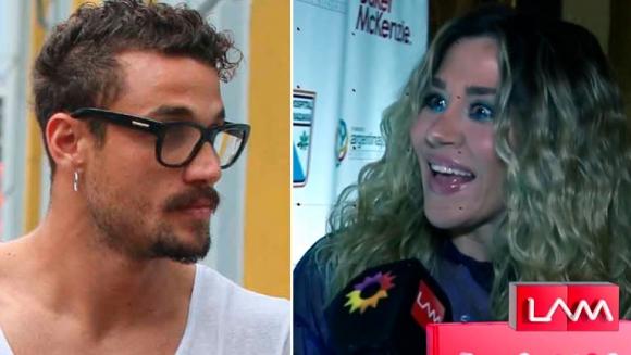 """La reacción de Jimena Barón cuando le preguntaron si se reconcilió con Osvaldo: """"¿Qué? Me meto La Cobra en el cu..."""""""