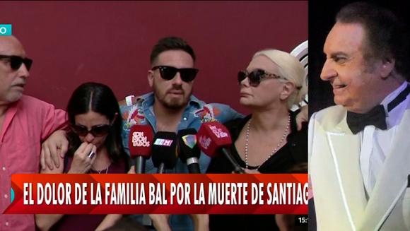 """Fede Bal, quebrado junto a Carmen y sus hermanos tras la muerte de Santiago: """"Su carita transmite tranquilidad"""""""