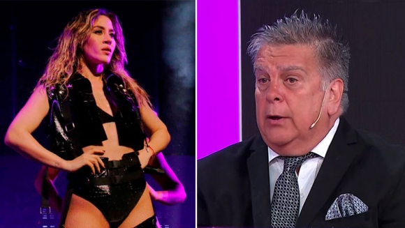 """Ventura bancó a Jimena Barón tras las críticas por no tener contacto con sus fans: """"Es decisión del artista saludar"""""""