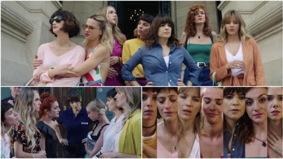 Así arrancó Separadas, la nueva apuesta de eltrece: siete mujeres terminan unidas por una estafa