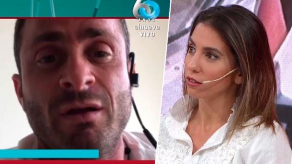 """El enojo de Martín Baclini, luego de que Cinthia Fernández lo acusara de violar la cuarentena: """"¡Estoy harto!"""""""