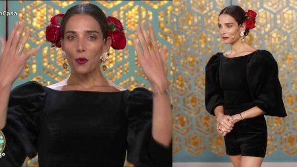 El sincericidio de Juana Viale al lucir un look súper glamoroso dedicado a Mirtha: No saben cómo llego al canal