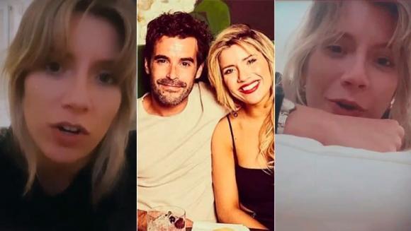 """La honestidad brutal de Laurita Fernández al responder si superó su separación de Cabré: """"No, estoy para el ort..."""""""