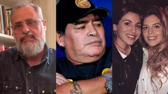 """Jorge Rial reveló por qué no publicó el polémico audio de Maradona contra su hija: """"Habla peor de él que de ella"""""""