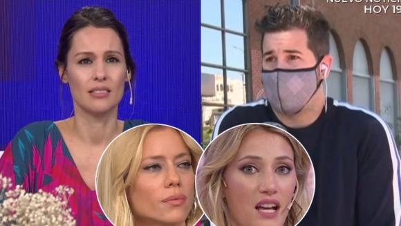 """Pampita arrinconó a Magaldi por la noticia del Covid positivo de Nicole: """"Justo la primicia la dan en tu programa"""""""