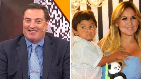 """El tierno gesto en vivo de Dieguito Fernando Maradona con Mario Baudry: """"Te quiero, me estás defendiendo"""""""