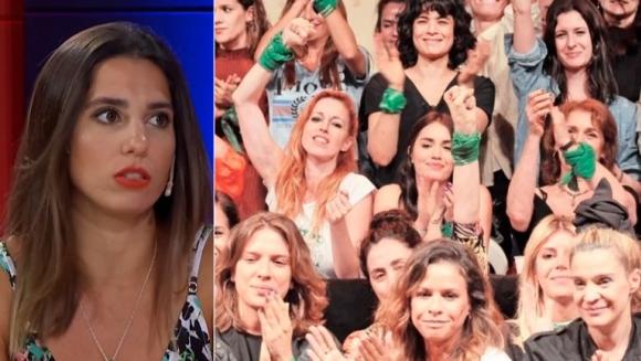 """Cinthia Fernández criticó al colectivo de Actrices Argentinas por no apoyarla tras contar la violencia que sufrió: """"Son selectivas"""""""