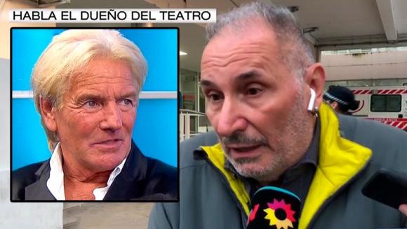 Habló el director del teatro en donde se presentó Sergio Denis y se cayó en una fosa