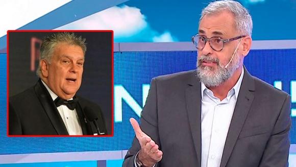 La irónica respuesta de Jorge Rial a Luis Ventura en Intrusos, tras no ser nominado en los Martín Fierro