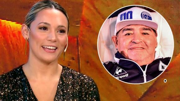 Rocío Oliva recordó cómo comenzó su romance con Maradona, al verla en medio de una multitud: