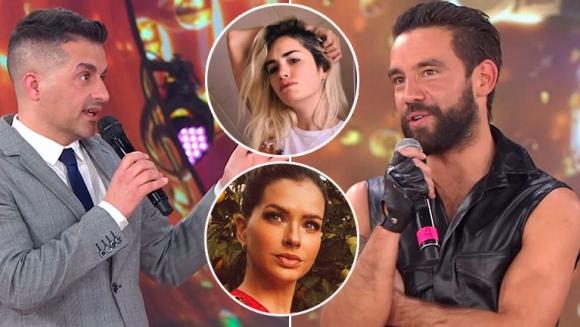 Agustín Sierra, muy incómodo cuando Ángel le preguntó por sus romances con Lali y China Suárez: