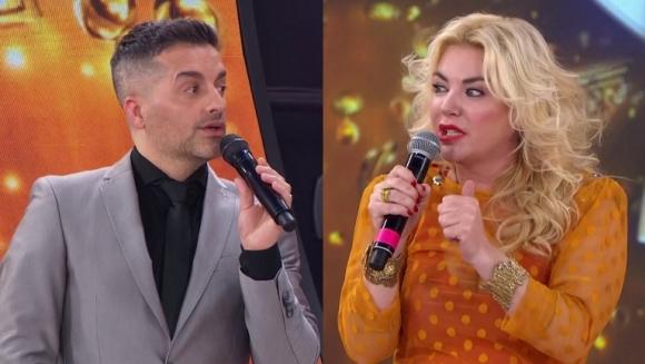 Filosa amenaza de Esmeralda Mitre a Ángel de Brito en Cantando 2020: