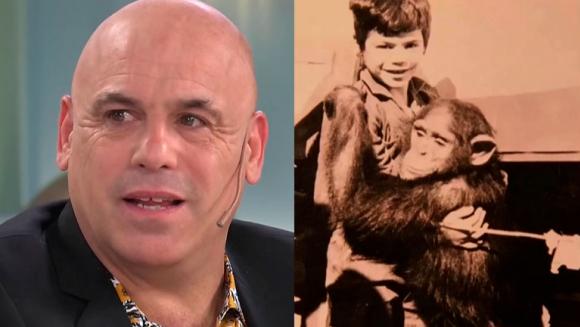 Bicho Gómez sorprendió al revelar que un animal lo cuidó de niño: