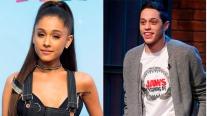 Ariana Grande se compromete con el humorista Pete Davidson